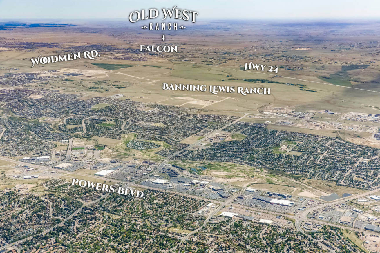 Old West Ranch - Colorado Land for sale