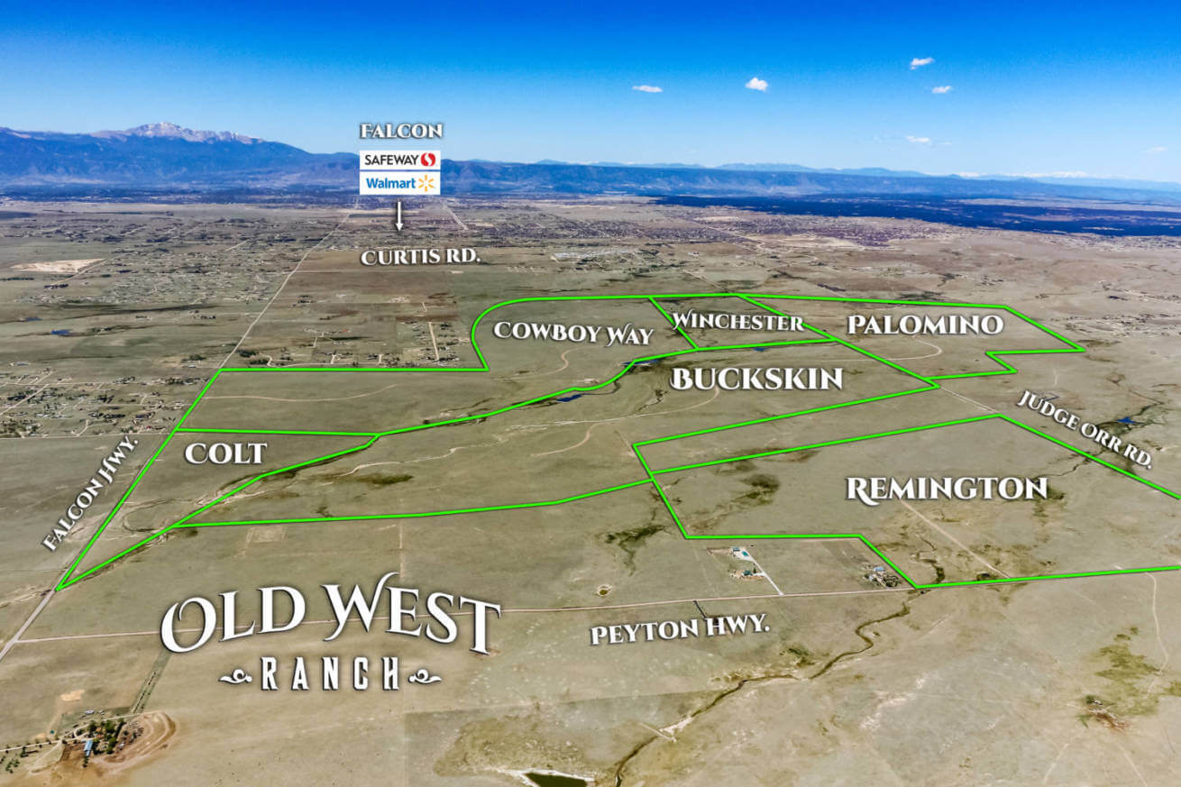 Old West Ranch – ranch for sale – Colorado land