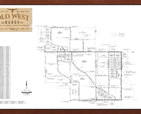 Old West Ranch CO Survey Marketing Version - Land for sale colorado Springs